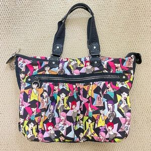 Tokidoki Expandable Shoulder Bag with Crystals